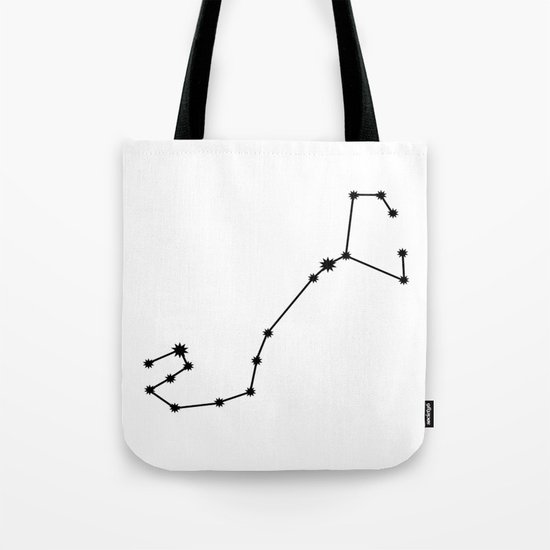 Scorpio Star Sign Black & White by beyondtheclouds