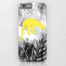 Yellow Panther Slim Case iPhone 6s