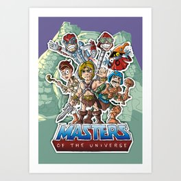 masters Art Print