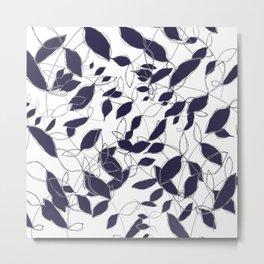 Crazy Leaves Metal Print
