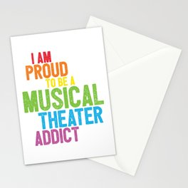 Musical Theater Pride Stationery Cards
