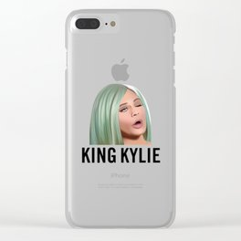 King Kylie Jenner Clear iPhone Case