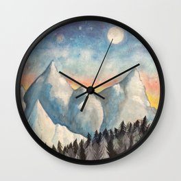 With How Sad Steps, Oh Moon Wall Clock