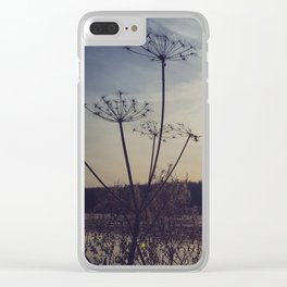 Dusty Sky Clear iPhone Case