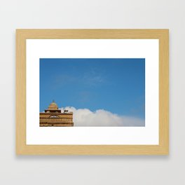 Stealthy Monkey Framed Art Print