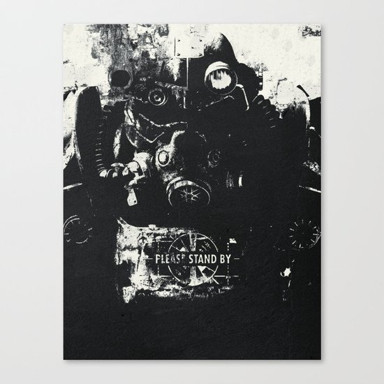 World on fire Canvas Print