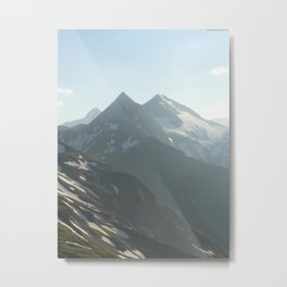 Austria's Highest Summits in the Hohe Tauern Metal Print
