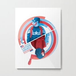 The Winter Soldier Metal Print