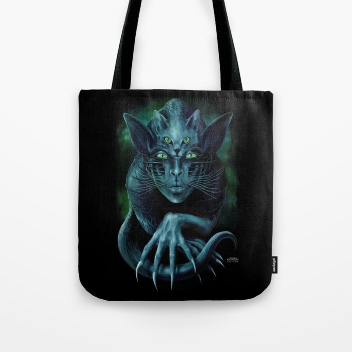 Cat People Tote Bag