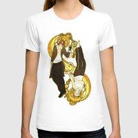 ying yang T-shirts featuring Ying Yang by Alya Fenume