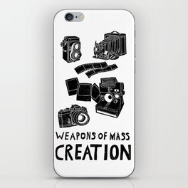 Weapons Of Mass Creation - Photography (clean) iPhone Skin