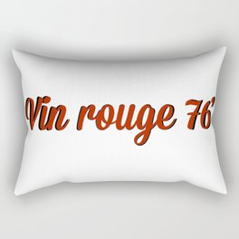 vin rouge 76` Rectangular Pillow