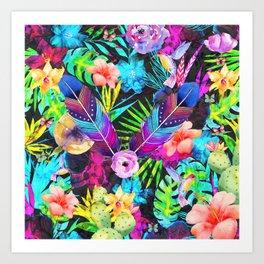 Spring love Art Print