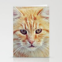 ginger Stationery Cards featuring Ginger by LindaMarieAnson