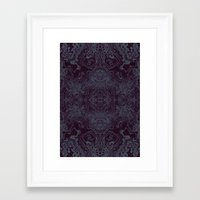 tatoo Framed Art Prints featuring Tatoo weft by NumericEric