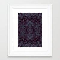 tatoo Framed Art Prints featuring Tatoo weft by NumericEric