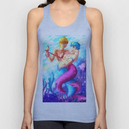 Mermaid Melody Unisex Tank Top