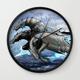Hippocampi Wall Clock
