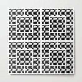 Segmented II Metal Print