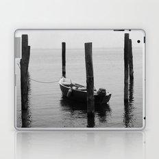 Boat on the lake Laptop & iPad Skin