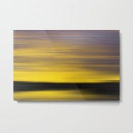 Seaside Impressions 3 Metal Print