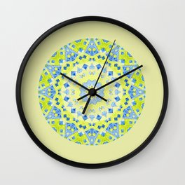Tilted Order Circle Bright Wall Clock