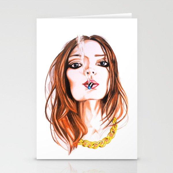 E Cigarette  Stationery Cards