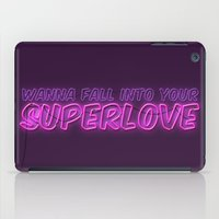 charli xcx iPad Cases featuring SuperLove / Charli XCX by Justified