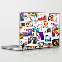1d Laptop & iPad Skins featuring POLAROID ONE DIRECTION 1D by BESTIPHONE5CASESHOP