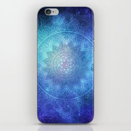 Abstract Flower of life Deep Space iPhone Skin