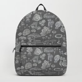 Mycology Grey Backpack