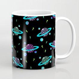 Planets / Black Coffee Mug