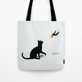 Cat and Snitch Tote Bag