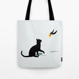Cat and Snitch Tote Bag