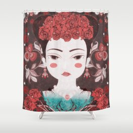 Mexican eyes II Shower Curtain