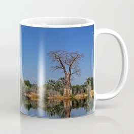 African landscape with baobabs Coffee Mug