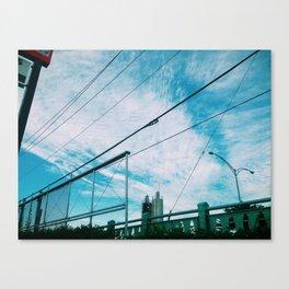 Blue Skies... Canvas Print