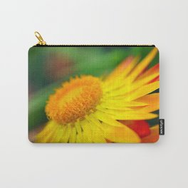 Yellow and Red Flower Macro Phot Carry-All Pouch