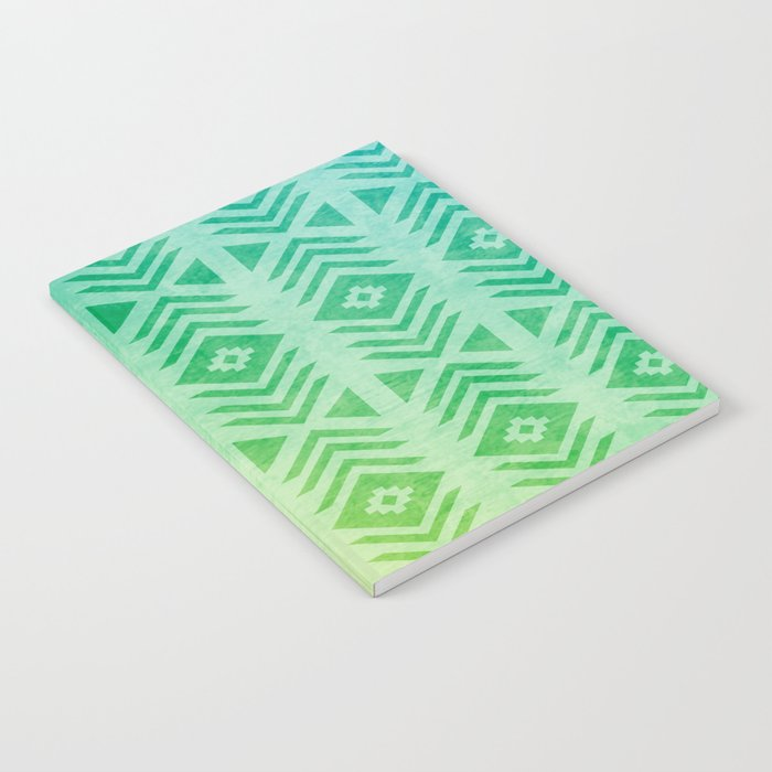 Aztec Pattern 01 Notebook
