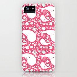 The Whales dance iPhone Case