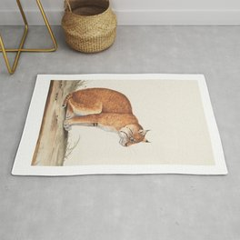 Cat Illustration for cat lovers, Cute Kitty, Purrrfect Rug