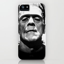Frankenstein's Monster - Classic Horror Movies iPhone Case