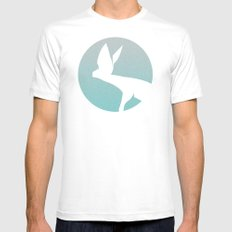 Hunting Mens Fitted Tee White MEDIUM