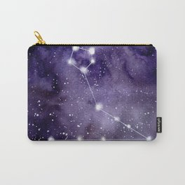 Watercolor zodiac constellation pisces Carry-All Pouch