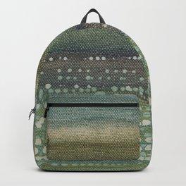 Landscape Dots- Blue Backpack