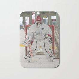 Brandon F. Ottenbacher - Starting Goaltender: Honey Badgers Bath Mat