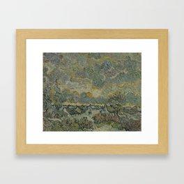 Reminiscence of Brabant Framed Art Print