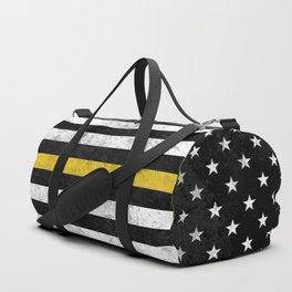 Thin Gold Line Duffle Bag