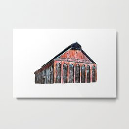 NEW CITY GAS COMPANY OF MONTREAL Metal Print