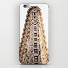 sir flatiron iPhone Skin